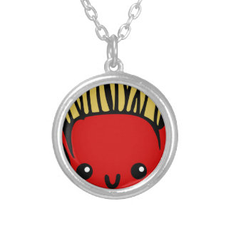 Kawaii Fries Silver Plated Necklace