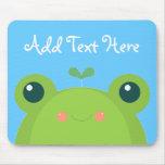 Kawaii Frog Mouse Pad