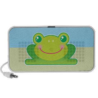 Kawaii frog mp3 speakers