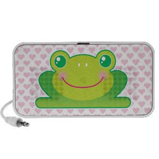 Kawaii frog iPhone speaker