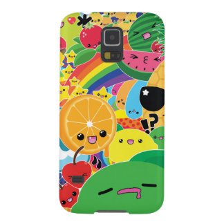 Kawaii Fruit Bash Samsung Galaxy S5 Case