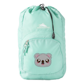 Kawaii, fun and funny koala backpack