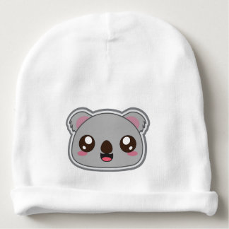 Kawaii, fun and funny koala infant beanie baby beanie