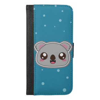 Kawaii, fun and funny koala wallet case