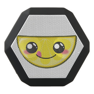 Kawaii, fun and funny lemon black bluetooth speaker
