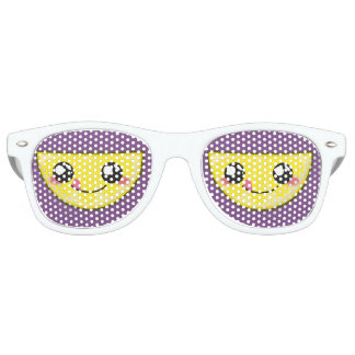 Kawaii, fun and funny lemon sunglasses