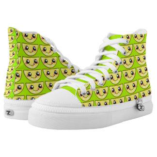 Kawaii, fun and funny lemony shoe