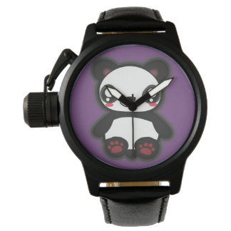 Kawaii, fun and funny panda watch