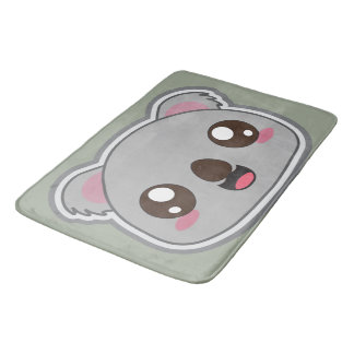 Kawaii, fun, funny and cool koala bathmat