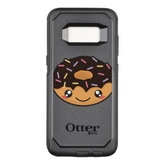 Kawaii funny and cool donut OtterBox commuter samsung galaxy s8 case