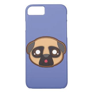 Kawaii funny and cool pug iphone case