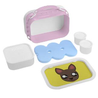 Kawaii funny chihuahua lunchbox