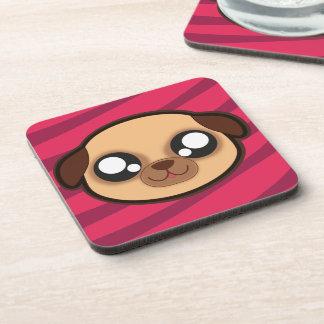 Kawaii funny dog coaster