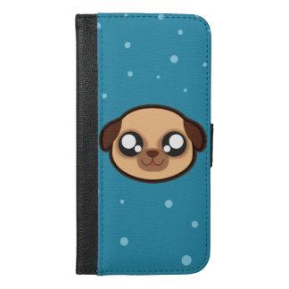 Kawaii funny dog wallet case