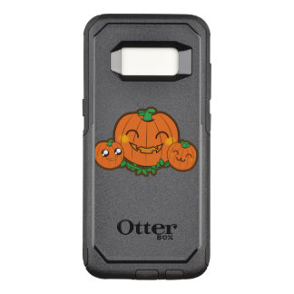 Kawaii funny Pumpkin OtterBox Commuter Samsung Galaxy S8 Case