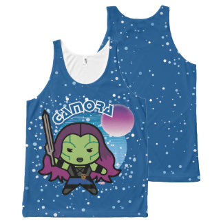 Kawaii Gamora In Space All-Over Print Singlet