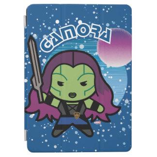 Kawaii Gamora In Space iPad Air Cover