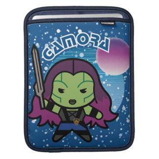 Kawaii Gamora In Space iPad Sleeve