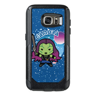 Kawaii Gamora In Space OtterBox Samsung Galaxy S7 Case
