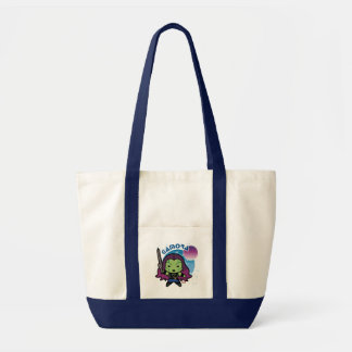 Kawaii Gamora In Space Tote Bag