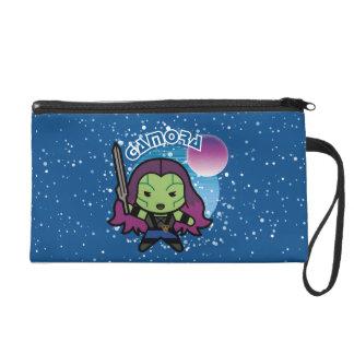 Kawaii Gamora In Space Wristlet