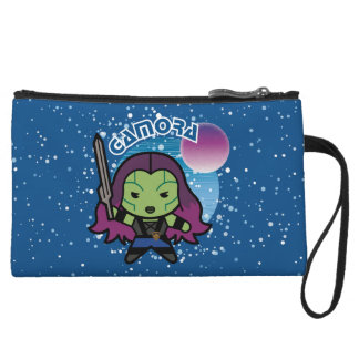 Kawaii Gamora In Space Wristlet