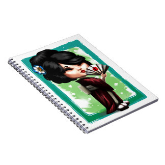 Kawaii Geisha Notebooks