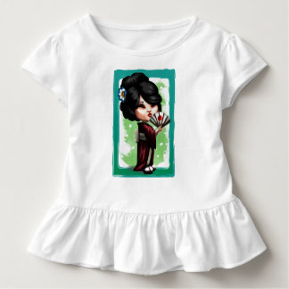 Kawaii Geisha Toddler T-Shirt