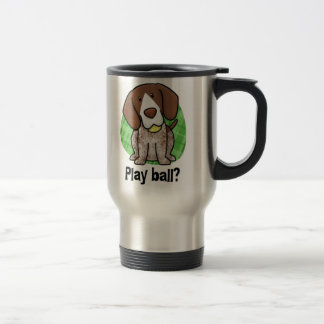 Kawaii German Shorthaired Pointer Travel Mug