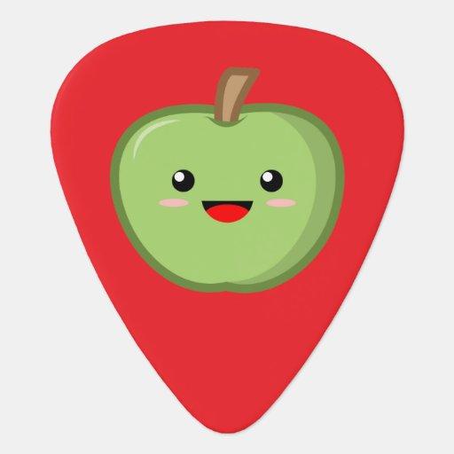 Kawaii Green Apple Guitar Pick