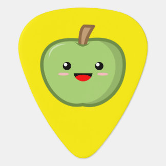 Kawaii Green Apple Guitar Pick