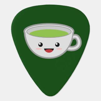Kawaii Green Tea Guitar Pick