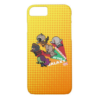 Kawaii Guardians of the Galaxy Group Jump iPhone 8/7 Case