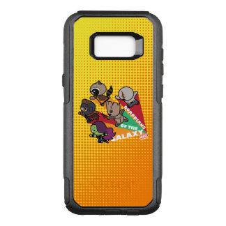 Kawaii Guardians of the Galaxy Group Jump OtterBox Commuter Samsung Galaxy S8+ Case