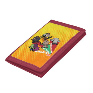 Kawaii Guardians of the Galaxy Group Jump Tri-fold Wallet