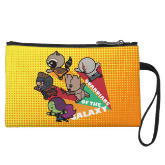 Kawaii Guardians of the Galaxy Group Jump Wristlet