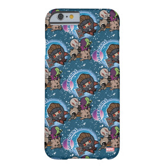 Kawaii Guardians of the Galaxy Pattern Barely There iPhone 6 Case