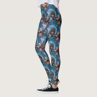 Kawaii Guardians of the Galaxy Pattern Leggings