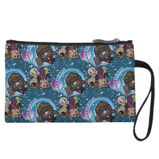 Kawaii Guardians of the Galaxy Pattern Wristlet