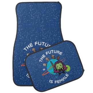 Kawaii Guardians of the Galaxy Planet Graphic Car Mat