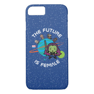 Kawaii Guardians of the Galaxy Planet Graphic iPhone 8/7 Case