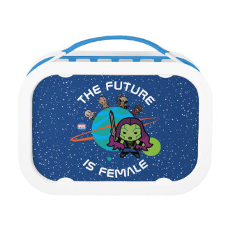 Kawaii Guardians of the Galaxy Planet Graphic Lunch Box
