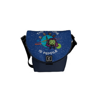 Kawaii Guardians of the Galaxy Planet Graphic Messenger Bag