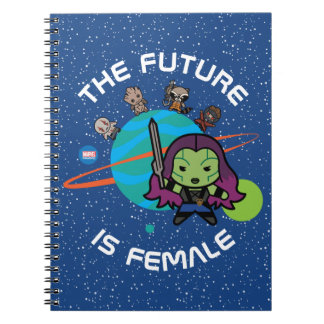 Kawaii Guardians of the Galaxy Planet Graphic Notebook