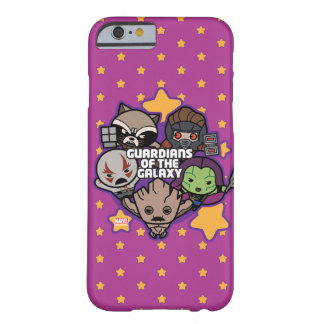 Kawaii Guardians of the Galaxy Star Graphic Barely There iPhone 6 Case