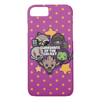 Kawaii Guardians of the Galaxy Star Graphic iPhone 8/7 Case