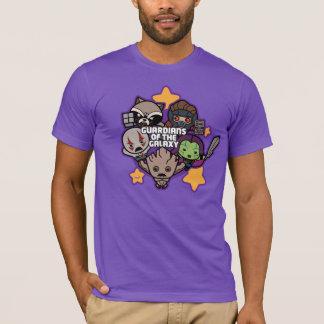 Kawaii Guardians of the Galaxy Star Graphic T-Shirt