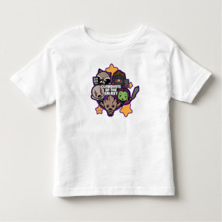 Kawaii Guardians of the Galaxy Star Graphic Toddler T-Shirt