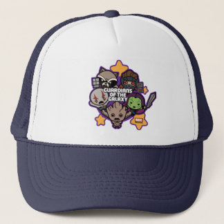 Kawaii Guardians of the Galaxy Star Graphic Trucker Hat