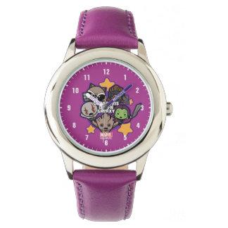 Kawaii Guardians of the Galaxy Star Graphic Watch